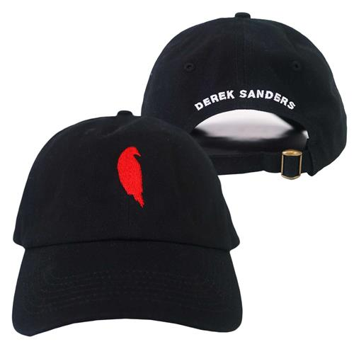 Bird Logo Black Dad Hat