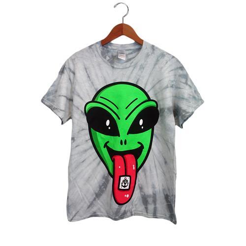 Alien Trip Special Print Tie Dye