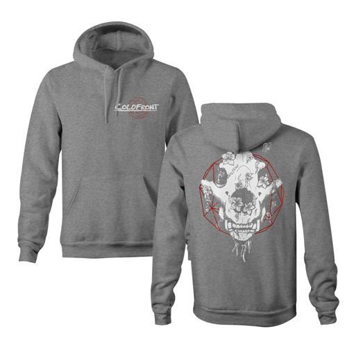 Skull Dreamcatcher Grey