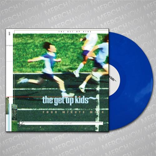 Four Minute Mile Opaque Blue Colored