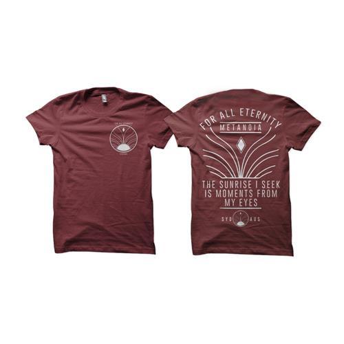 Sunrise Maroon T-Shirt