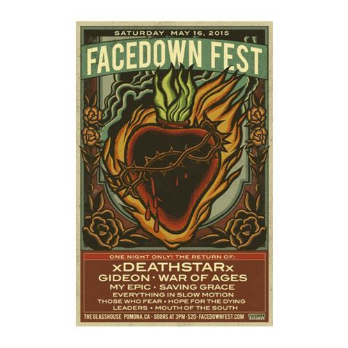 Facedown Fest 15 Tour