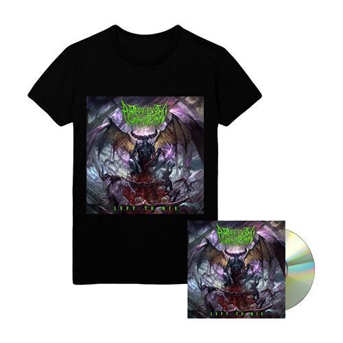 Left To Die CD + Album T-Shirt