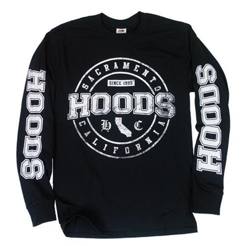 California Black Longsleeve Shirt