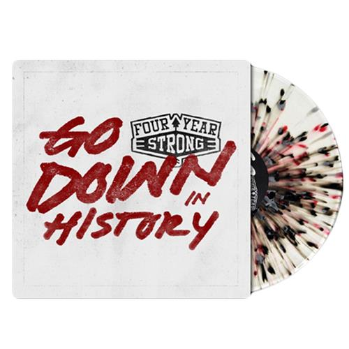 Go Down In History Clear W/Red & Black Splatter LP