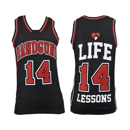 Life Lessons Black / Red Basketball