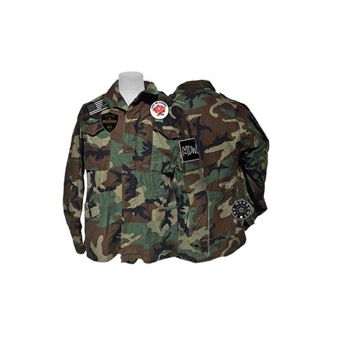 Vintage Military Jacket W/ Patches