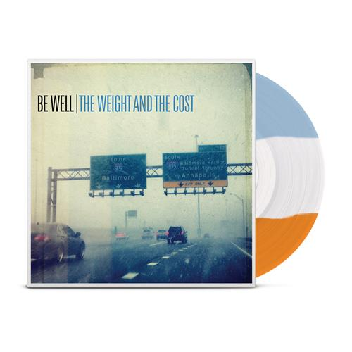 The Weight And The Cost Tri Color Stripe (Orange, White, Blue)
