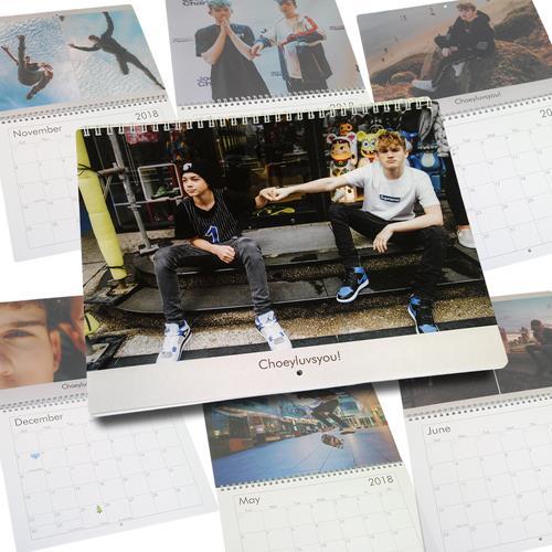 2018 Photo Calendar w/ Rare Pics and Birthdays