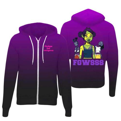 MSI LIMITED: Premium Blend Purple FGWSSS Hoodie