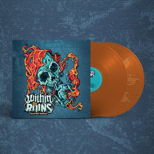 Halfway Human Orange Vinyl 2Xlp