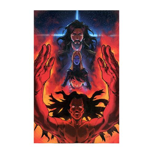 Good Apollo, I'm Burning Star IV Issue 8 Variant  Comic Book