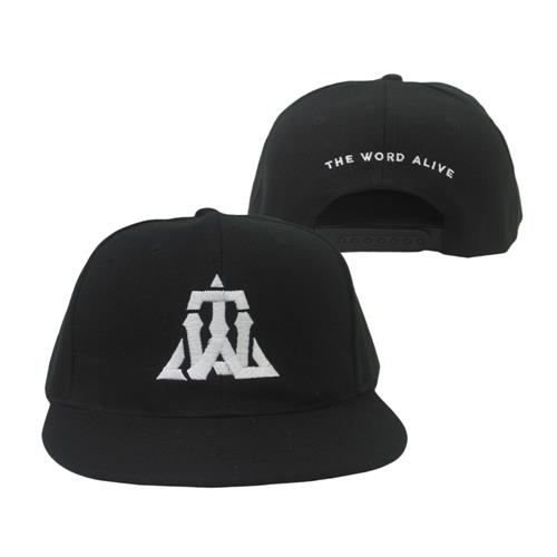 Triangle Black Snapback