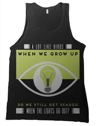Lights Out Black Tank Top