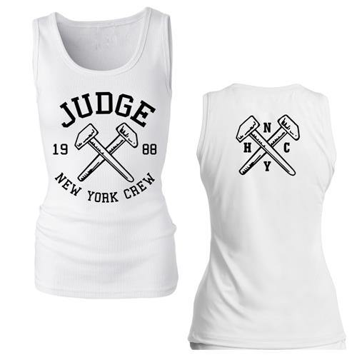 Hammers White Girl's Tank Top