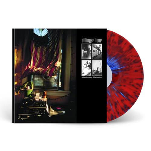 Midwestern Songs Of The Americas Red, White & Blue Splatter LP