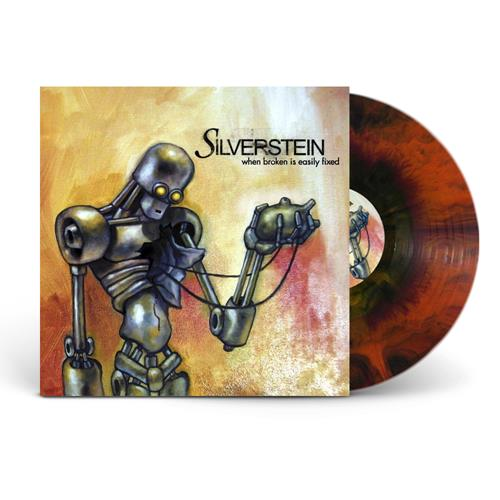 When Broken Is Easily Fixed  Orange/Red/Black Starburst LP