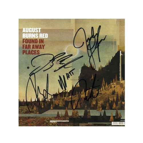 Found In Far Away Places Signed CD Booklet