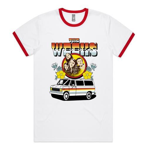 Van White/Red