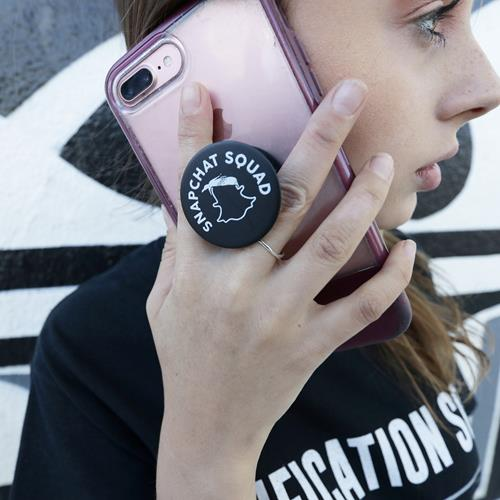 Snap Squad Black Popsocket