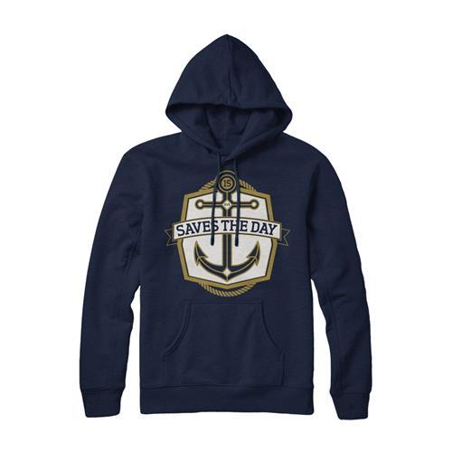 Anchor Navy Hooded Sweatshirt