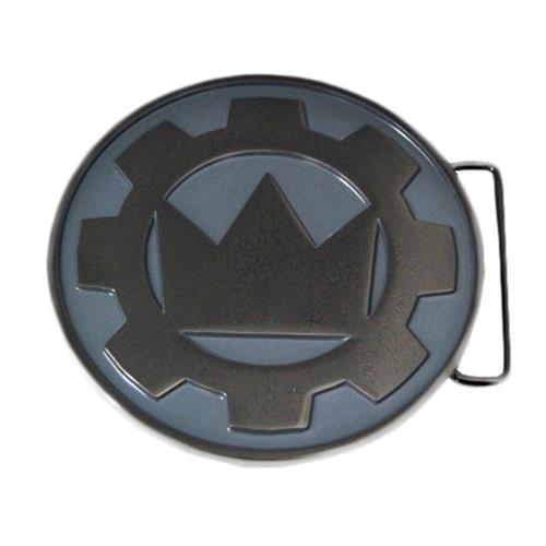 Logo Silver Belt Buckle