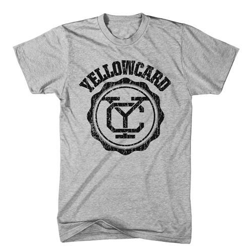 Yellowcard - Black Logo Grey