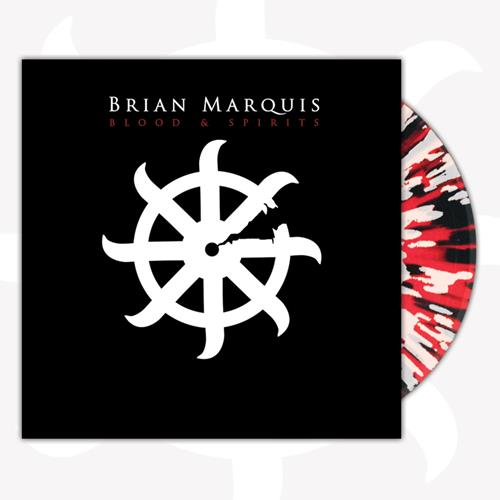 Blood And Spirits Clear W/ Red White Black Splatter LP