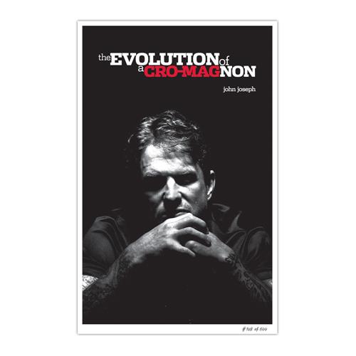 The Evolution Of A Cro-Magnon  11X17 Hand Numbered Print