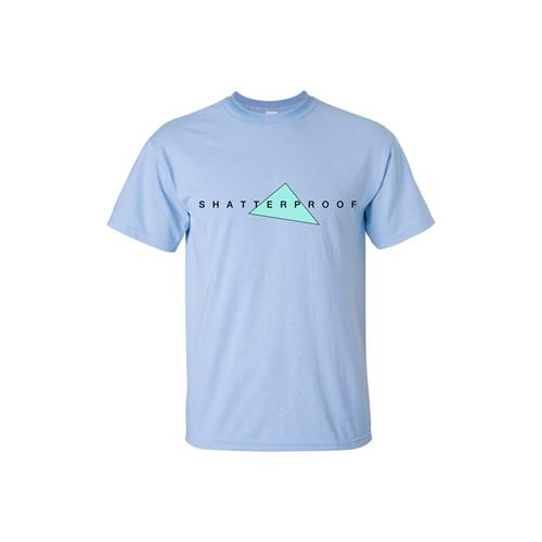 Triangle Logo Light Blue