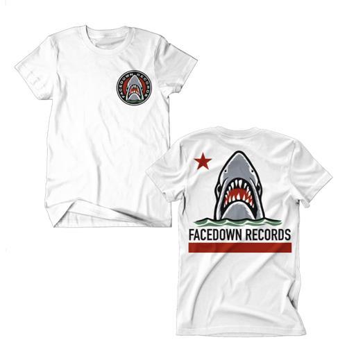 Shark Flag White *Final Print - Small Only*