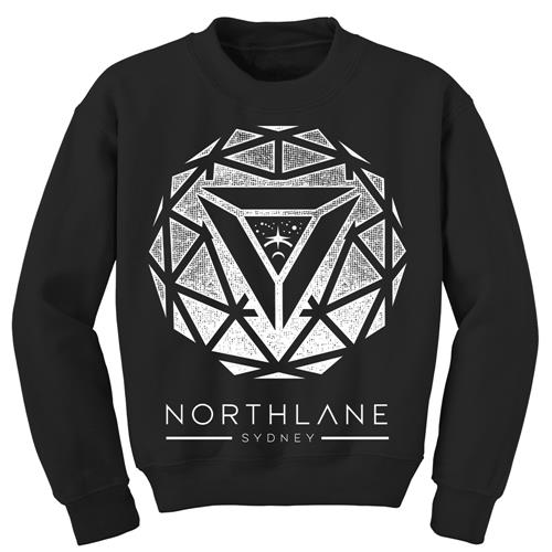 Sphere Black Crewneck