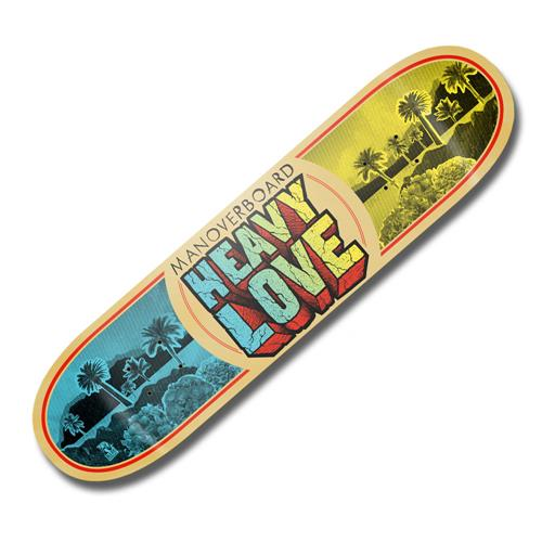 Heavy Love Skate Deck