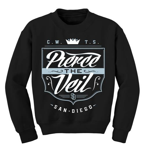 Shield Black Crewneck