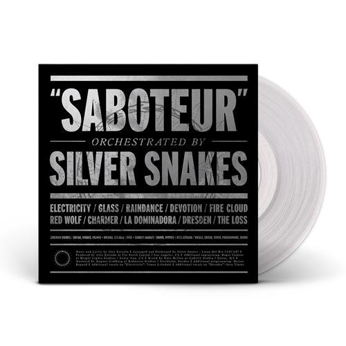 Silver Snakes - Saboteur Clear Vinyl