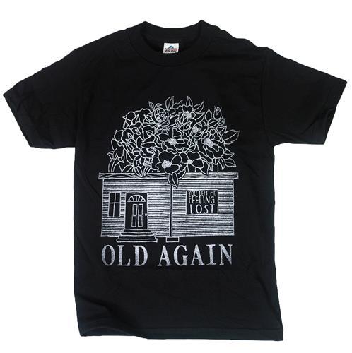 Flower House Black T-Shirt