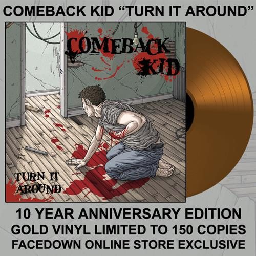 Turn It Around - 10 Year Gold LP