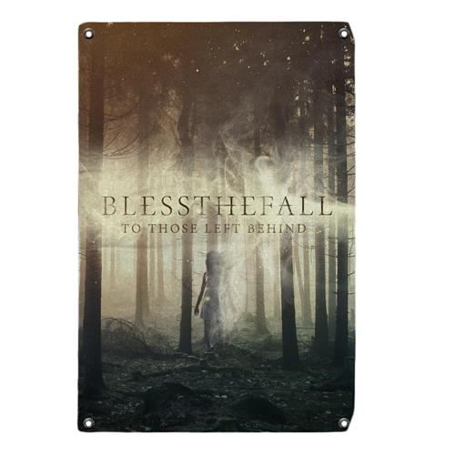 Blessthefall To Those Left Behind  Wall Flag