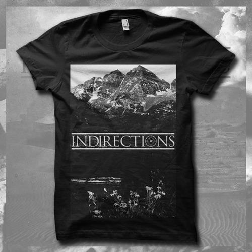 Mountains Black T-Shirt