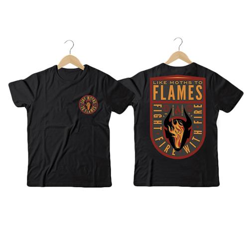 Coffin Flames Black