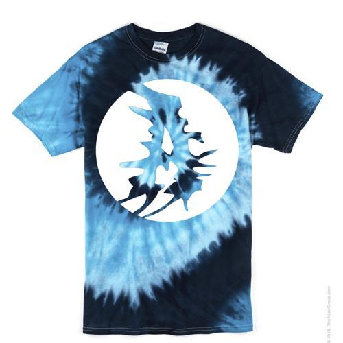 A Logo Blue Ocean Tie Dye