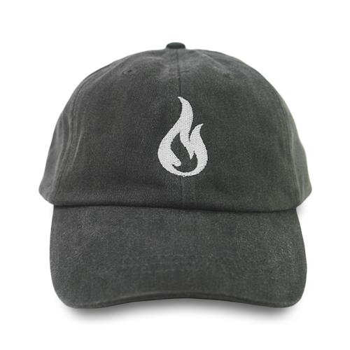 Flame Charcoal Dad Hat