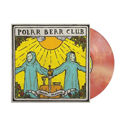 Death Chorus Yellow/Light Blue/Red Starburst LP