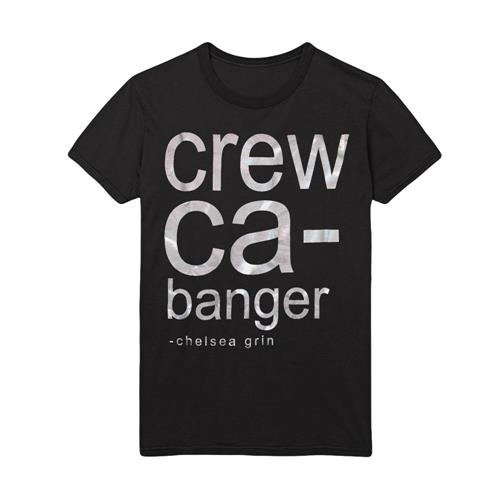 *Very Limited Stock* Crew Cabanger Silver Foil Black