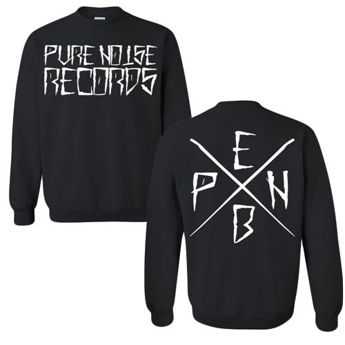Pure Noise Black Crewneck