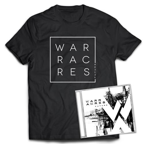 Warr Acres - Future CD + T-shirt