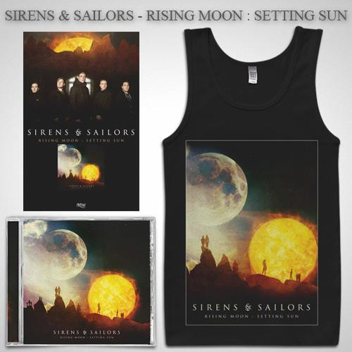 Rising Moon: Setting Sun CD + Tank Top + Poster + Digital Download