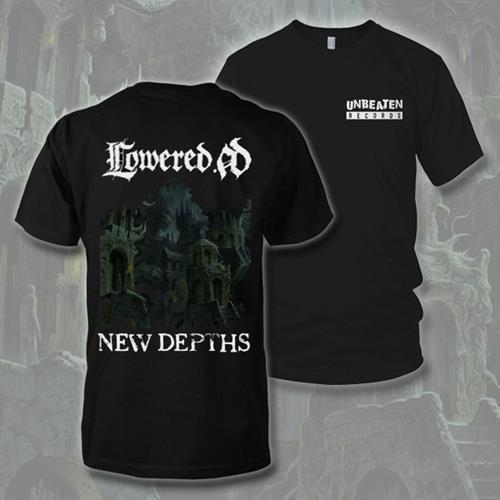 New Depths Black T-Shirt