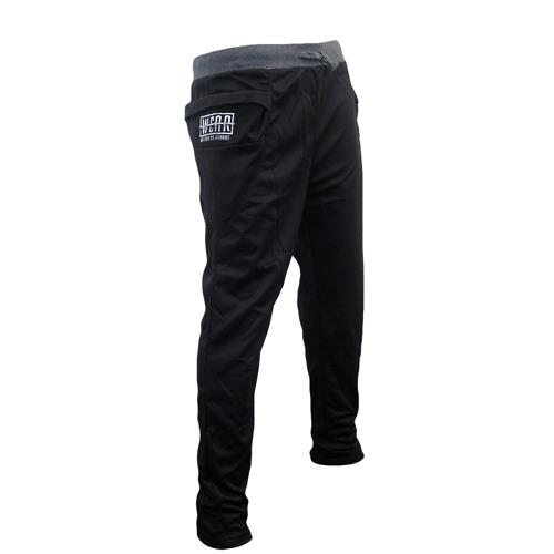 Strike Through Logo Black Joggers