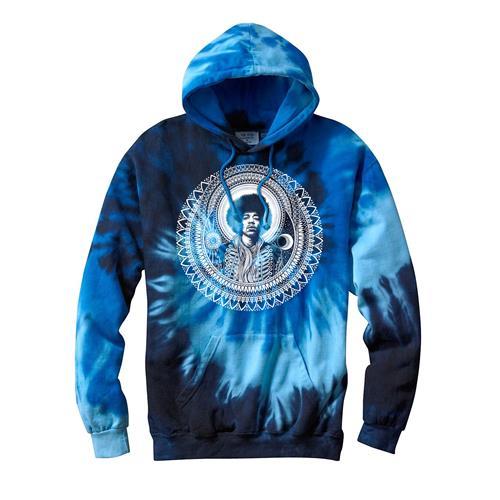 Dale Sarok Hendrix Blue Ocean Tie Dye